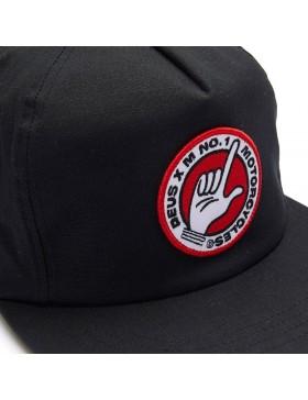 DEUS Murphy Snapback cap - black - Sale