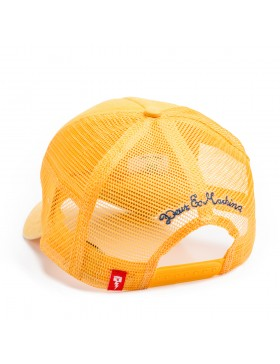 DEUS Kappe Trucker Charlie - washed yellow