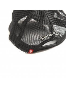 DEUS Kappe Trucker House - black
