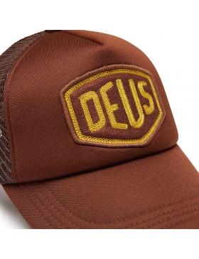 DEUS Trucker Kappe Felt Shield - brown