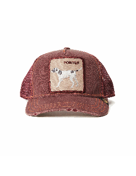 Goorin Bros. The Pointer Trucker cap -  Wine - Sale