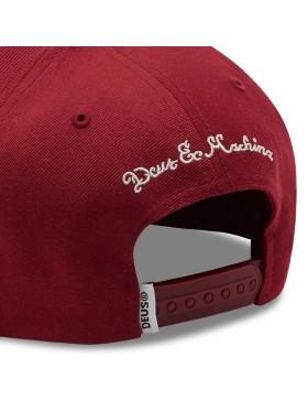 DEUS Heart Baseball Kappe - Rot
