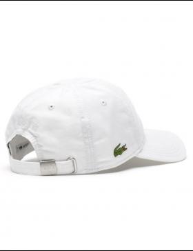 Lacoste Kappe - Gabardine cap - white