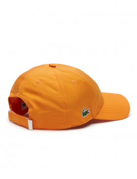 Lacoste Kappe - Sport cap diamond - apricot orange