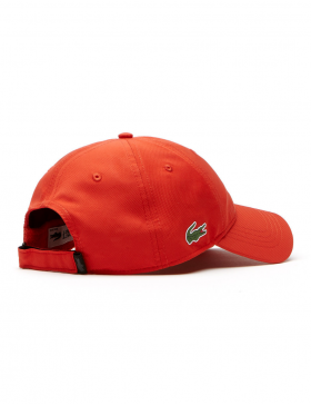 Lacoste Kappe - Sport cap diamond - etna orange