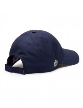 Lacoste Kappe - Sport cap diamond - marine blue