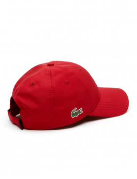 Lacoste Kappe - Sport cap diamond - red