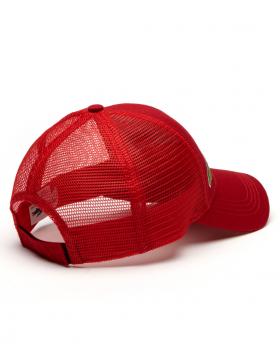 Lacoste Kappe - Trucker cap - red