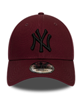 New Era 9Forty League Essential (940) NY Yankees - Maroon
