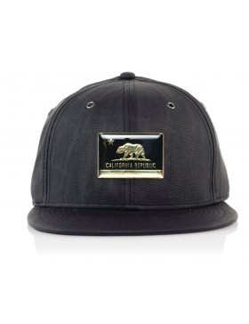 Official Cap Cali metal Strapback - black