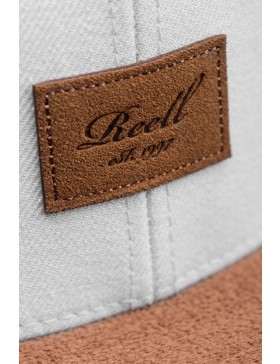 Reell 6 panel Suede cap snapback Dust Grey