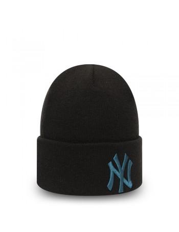 New Era League Essential Cuff Knit New York Yankees - Black/Blue