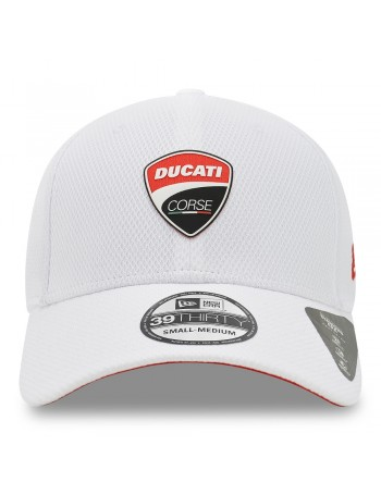 New Era 3930 Ducati Badge - White