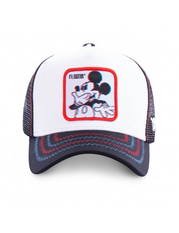 Capslab - Mickey Mouse Trucker cap - White/Red