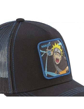 Capslab - Naruto Trucker cap - Black-Blue