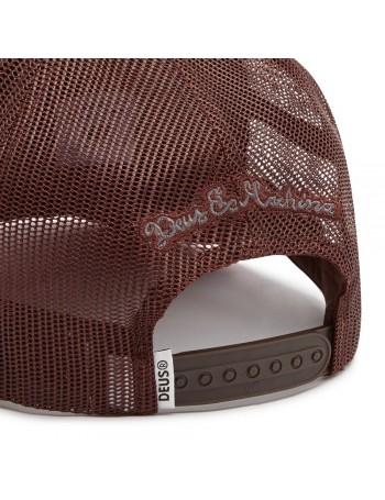 DEUS Diamond 2 Trucker kappe - Henna