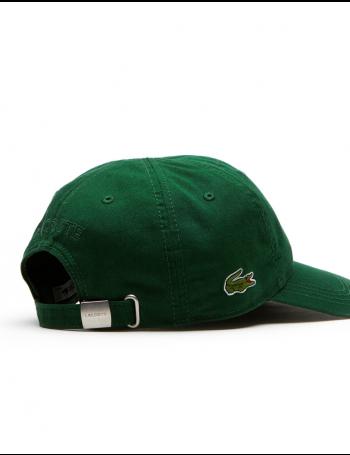 Lacoste Kappe - Gabardine cap - grün