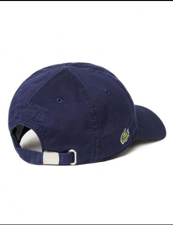 Lacoste Kappe - Gabardine cap - navy blue