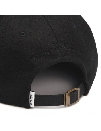DEUS Moleskin Dad cap - Black