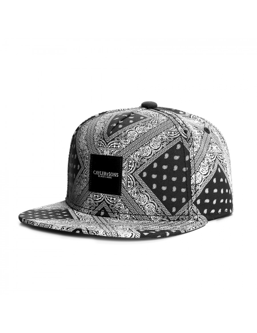Cayler & Sons Black Label Paiz snapback - Sale