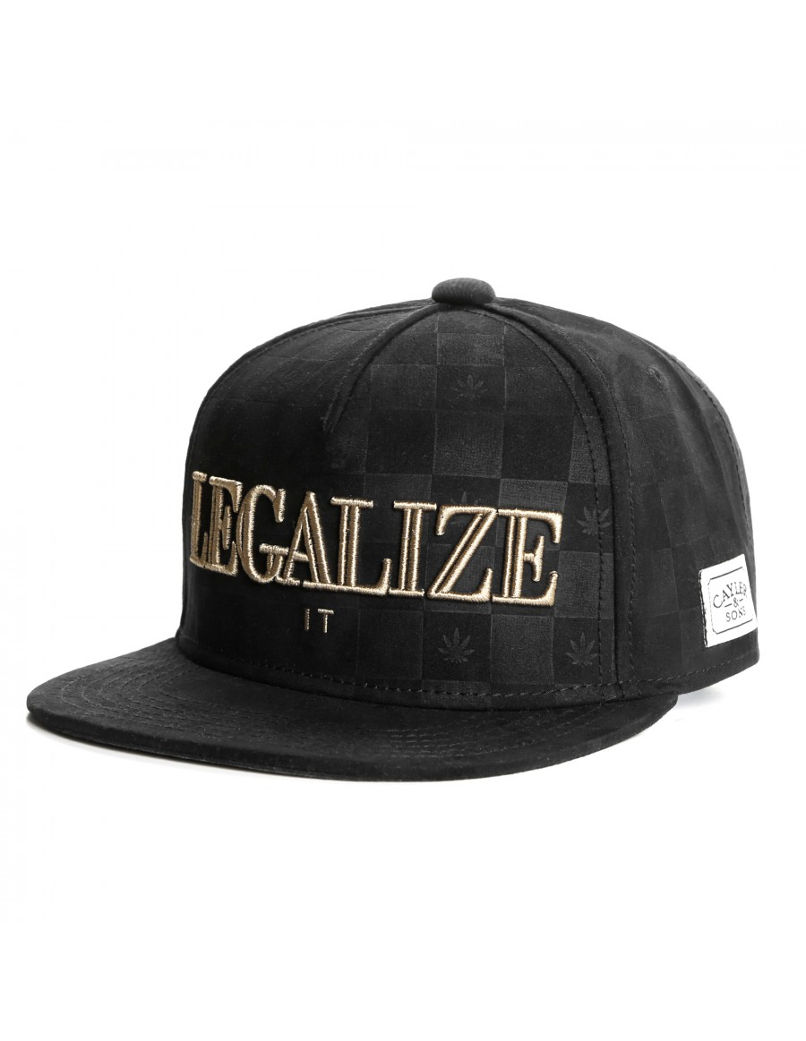 Cayler & Sons Legalize it snapback Cap