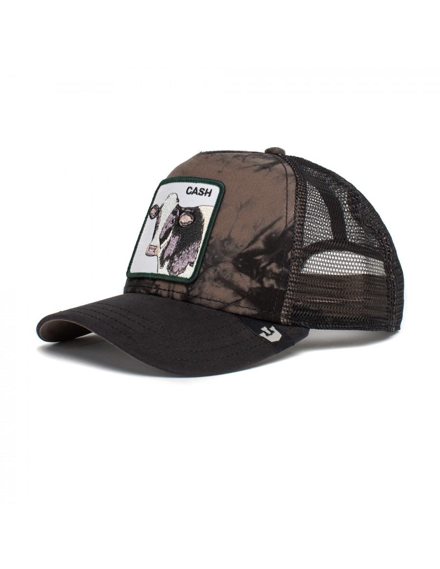 Goorin Bros. Make That Money Trucker cap - Olive