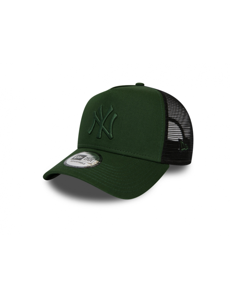 New Era Trucker kappe NY New York Yankees - Moss Green