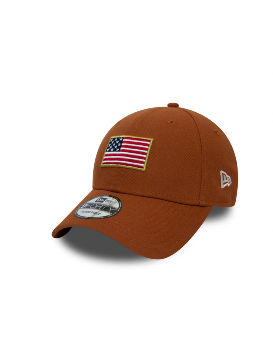 New Era Flagged 9Forty (940) USA - Orange