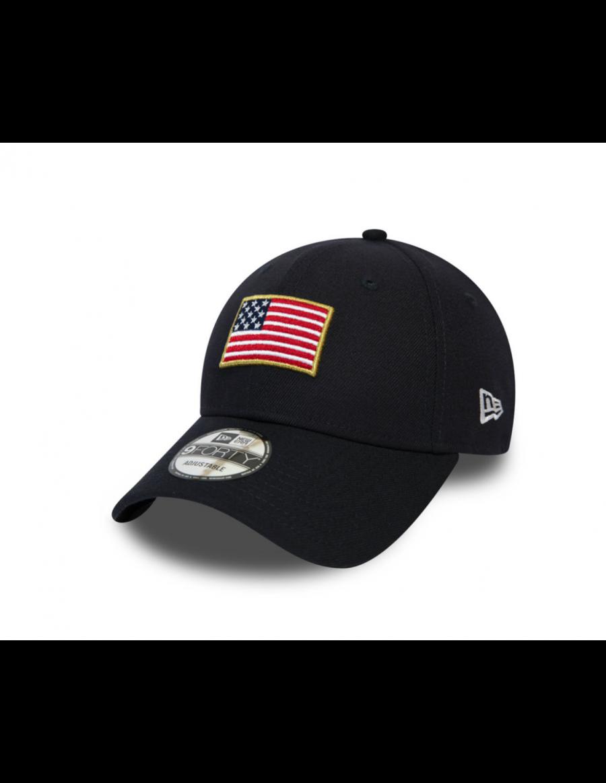 New Era Flagged 9Forty (940) USA - Blue