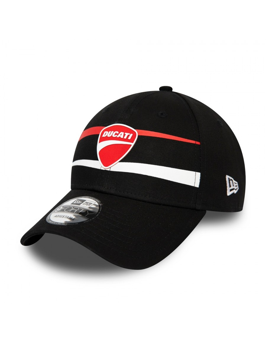 New Era 9Forty Curved cap (940) Ducati Stripe - Black