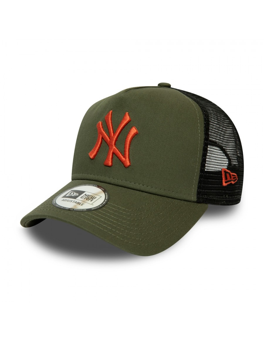 New Era League Essential AF Trucker cap NY Yankees - Olive