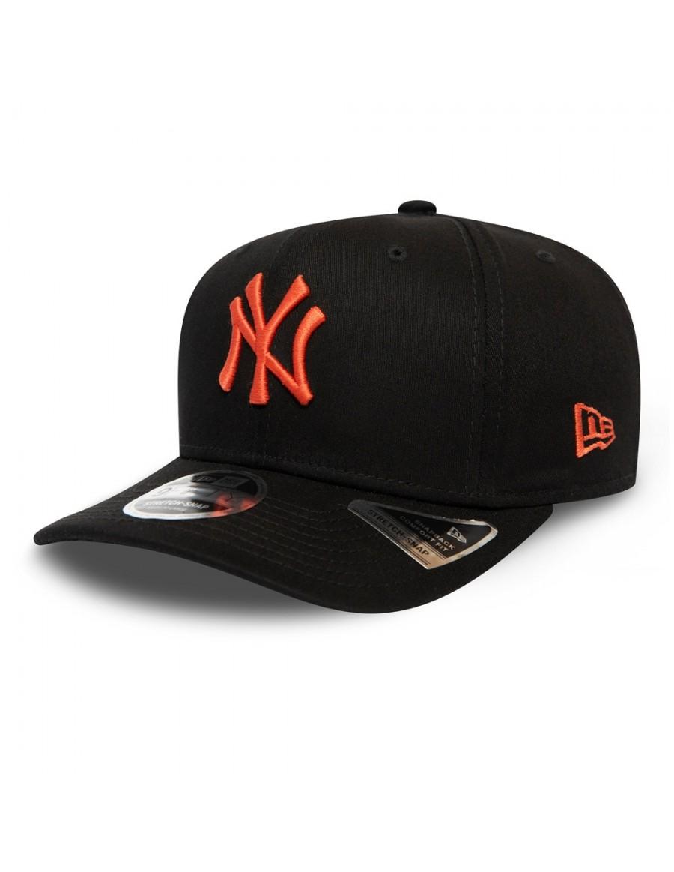 New Era 9Fifty Stretch Snap (950) NY Yankees - Black Orange