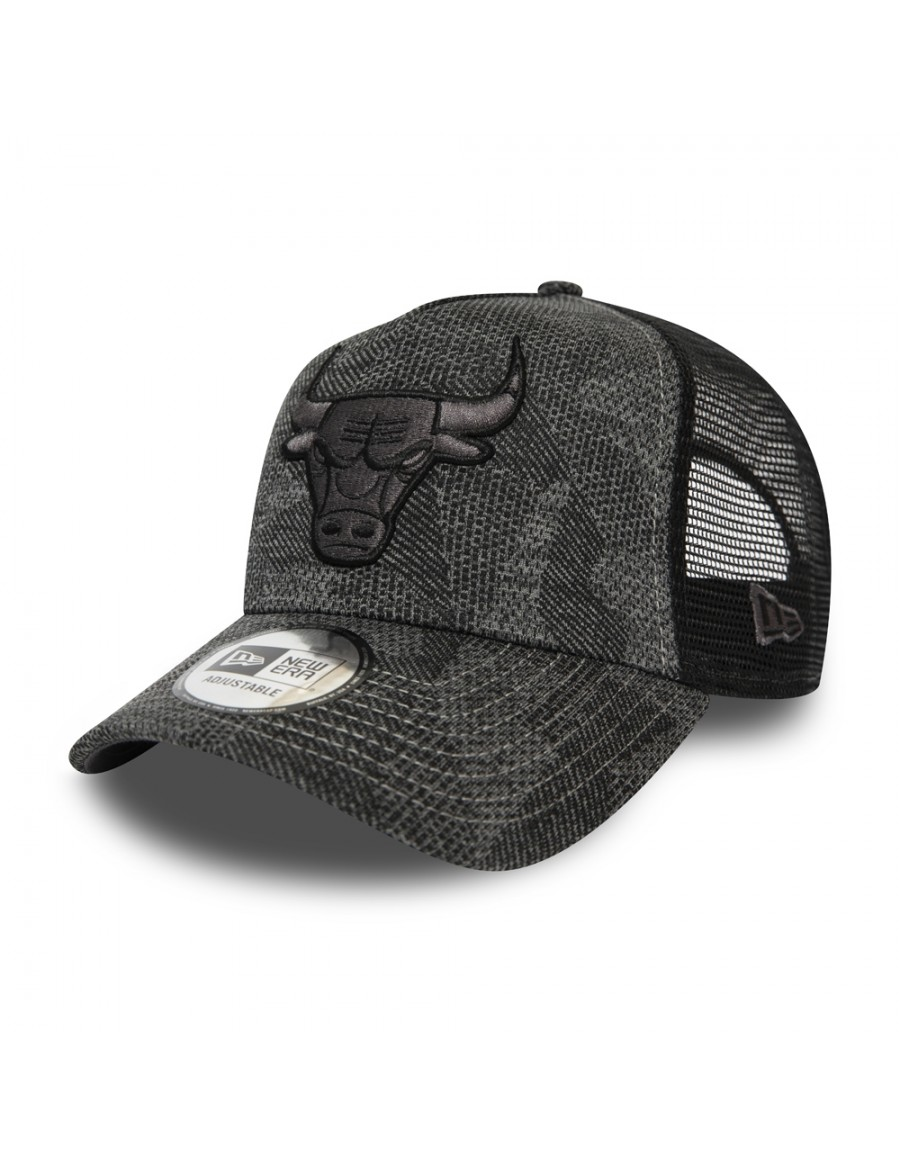 New Era League Essential AF Trucker cap Chicago Bulls - Gray
