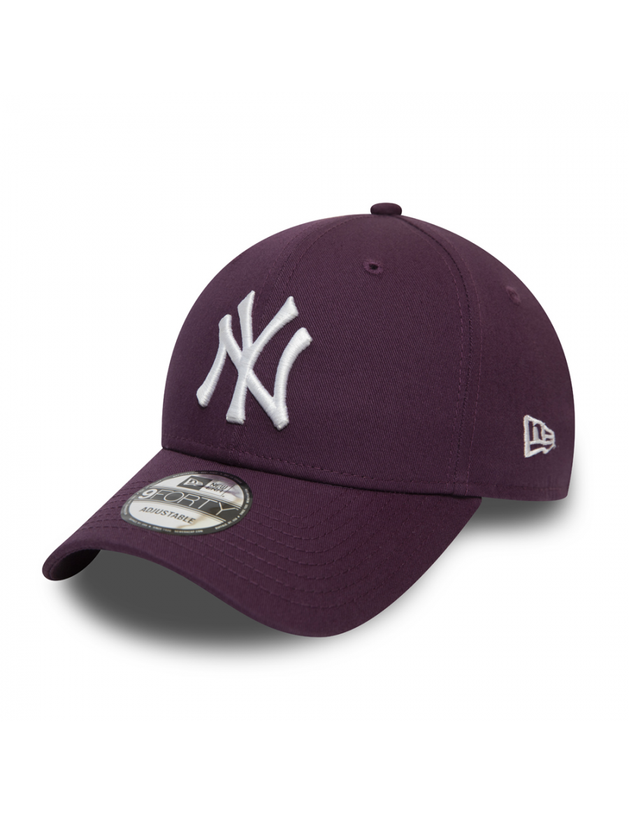 New Era 9Forty Colour Essential (940) NY Yankees - Maroon