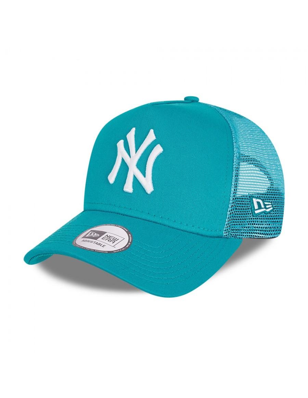 New Era Tonal Mesh Trucker cap NY Yankees - Teal