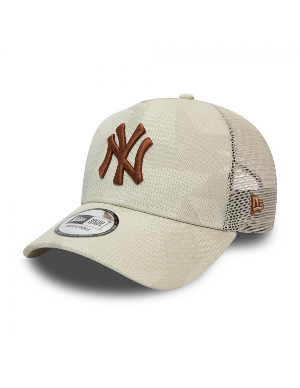 New Era Multi Camo Trucker cap NY Yankees - Beige