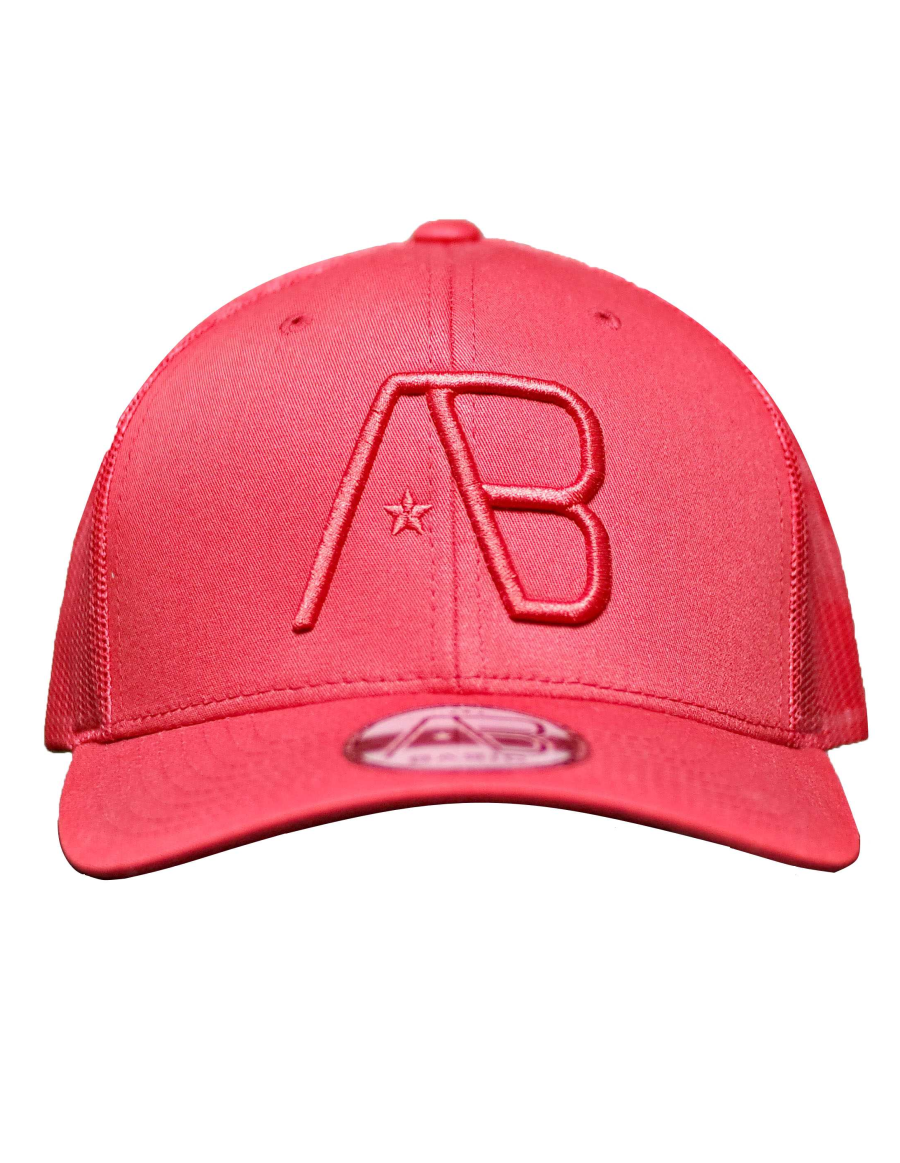 AB cap Retro Trucker - Red