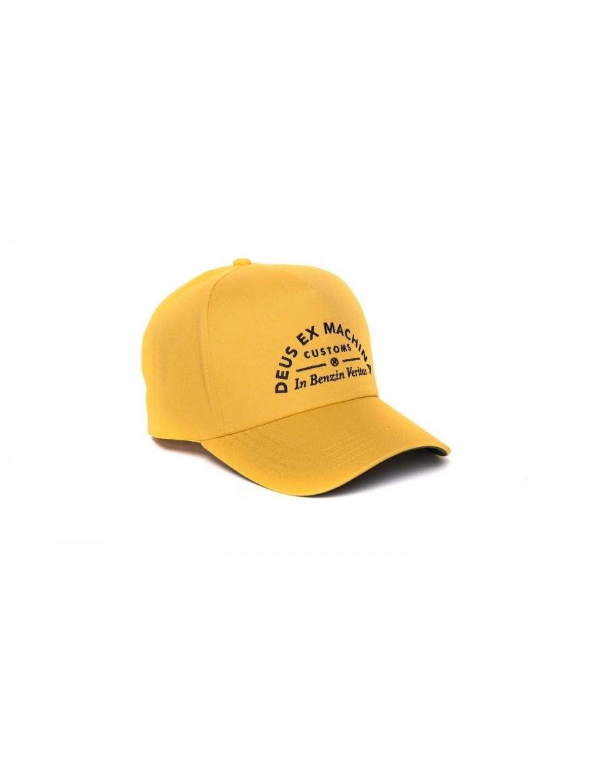 DEUS Benzin Trucker kappe - Golden