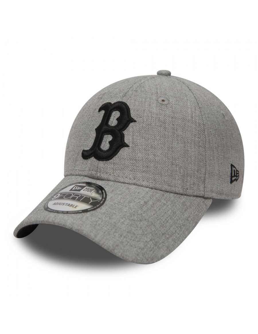 New Era 9Forty Heather Essential (940) Boston Red Sox - Gray