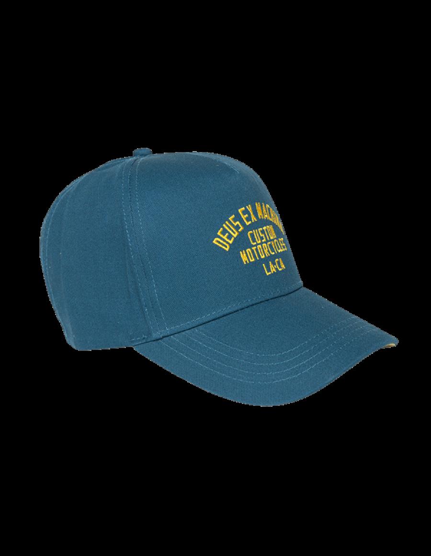 DEUS Buffalo Trucker cap - Teal Green
