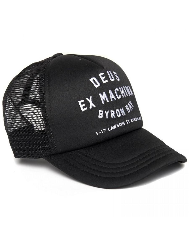 DEUS Byron Bay Address Trucker cap - Black