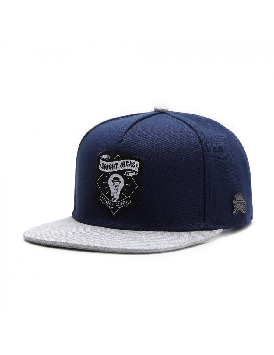 Cayler & Sons Bright Ideas snapback cap - navy