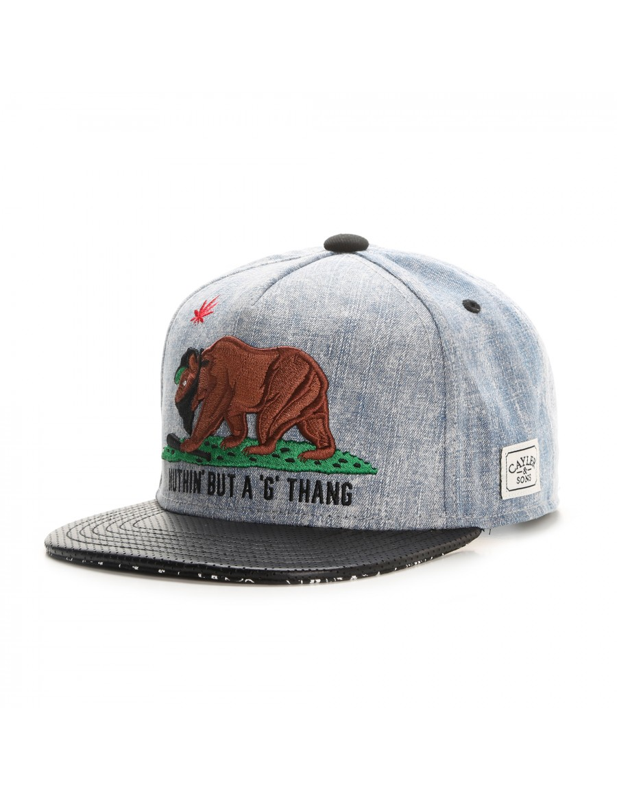 Cayler & Sons G Thang snapback cap