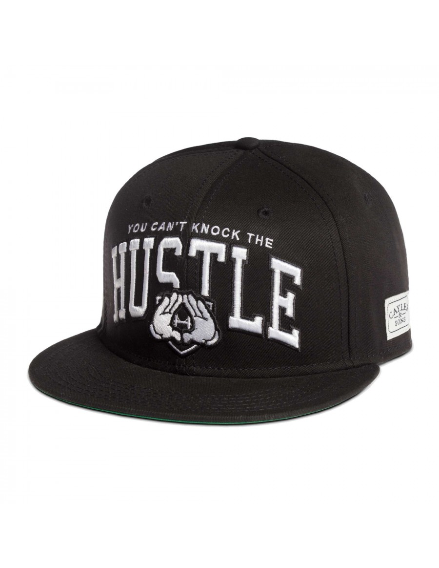 Cayler & Sons Hustle Snapback Black-white