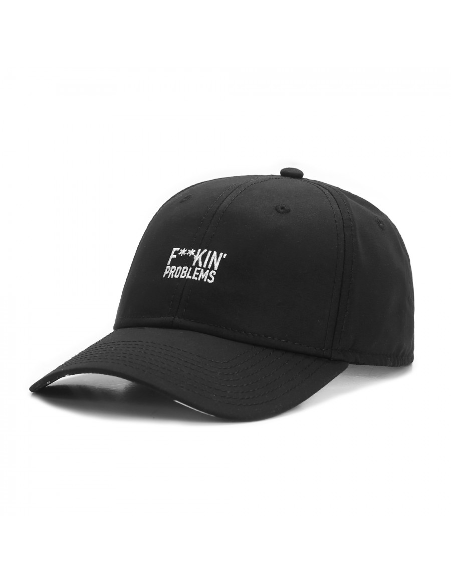 Cayler & Sons Problems - Curved dad cap - black