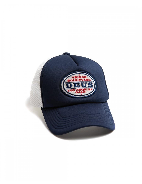 DEUS Certified Trucker cap - Navy
