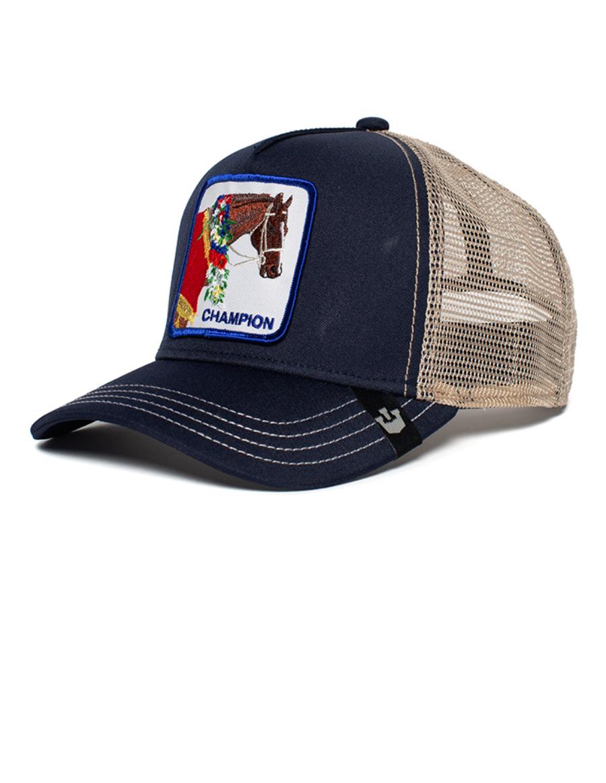 Goorin Bros. Champion Trucker cap - Blue