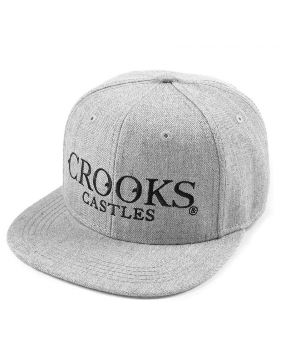 Crooks & Castles Crusades snapback grey