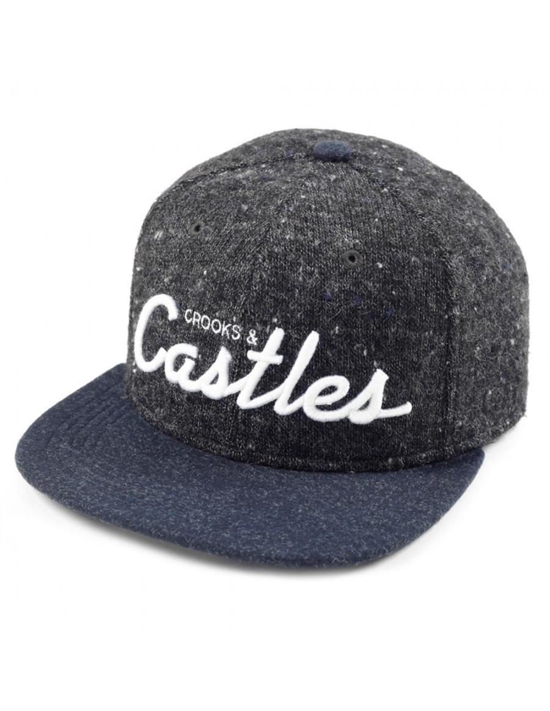 Crooks & Castles Team castles snapback navy