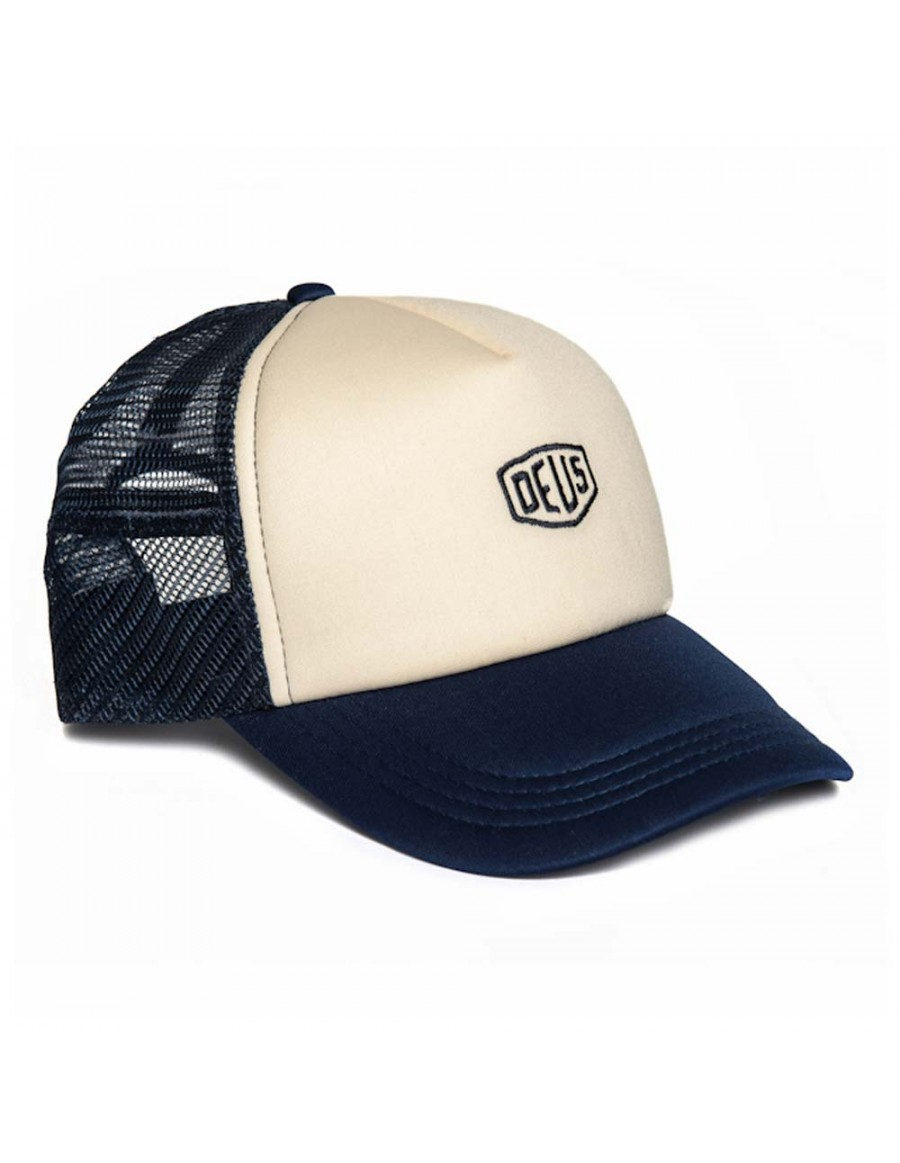 DEUS Trucker Kappe Shield - navy